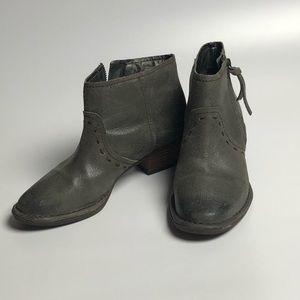 Gianibernini Gray Ankle Boots